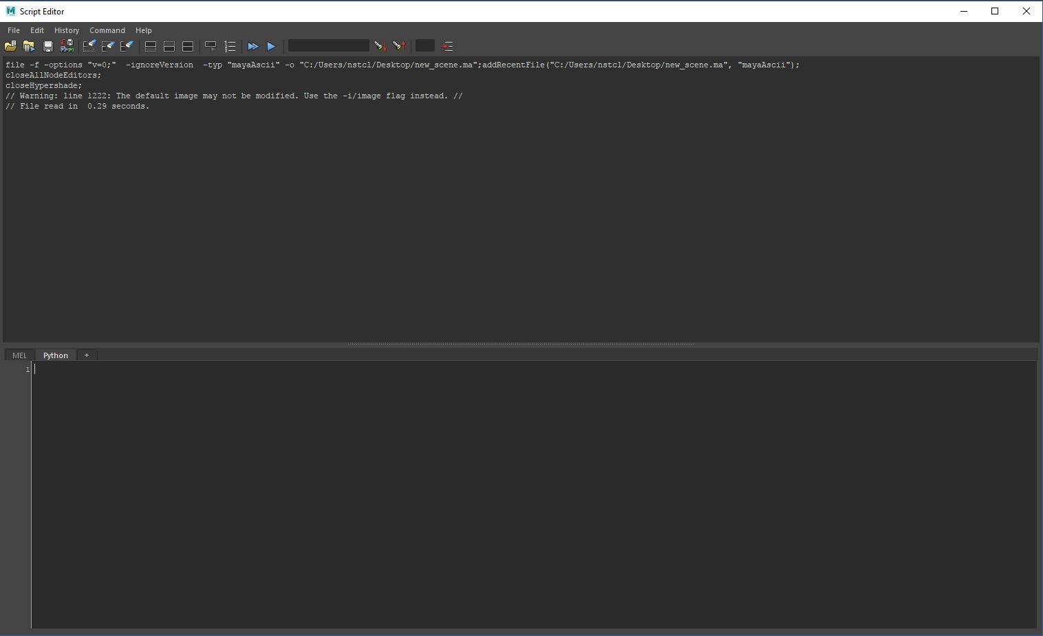 Script Editor Image